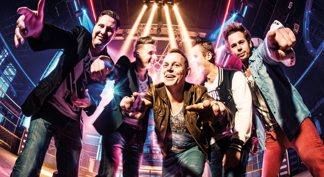 Kraakthelder coverband boeken? - Cappies Entertainment